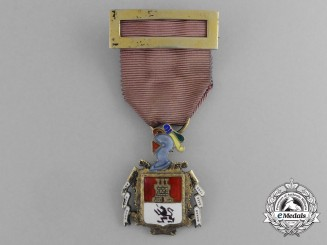 Spain, Kingdom. A Children of the Nobility of Madrid, Breast Badge, c.1935