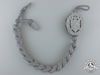 A Second Model Army Marksman's Lanyard; Grade II