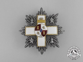 Spain, Franco Period. An Order of Military Merit, II Class Star with White Distinction, c.1960