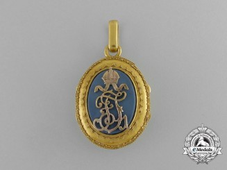 Austria, Imperial. A Personal Gift in Gold from Emperor Franz Joseph I, c.1900