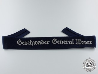 A Geschwader General Wever Cufftitle; Enlisted Version