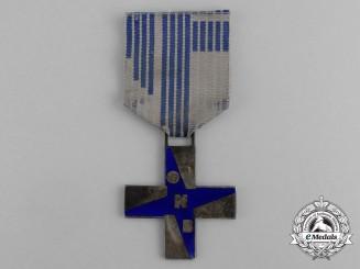 """An Italian Fascist Youth """"Opera Nazionale Balilla"""" (ONB) Cross of Merit for Boys"""