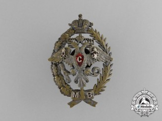 Russia, Imperial. An Officer's Militia Badge, c.1910