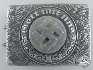 A German Police Buckle