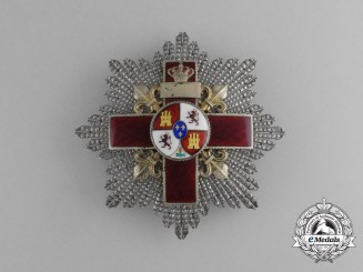 A Spanish Order of Military Merit; 2nd Class Breast Star with Red Distinction,