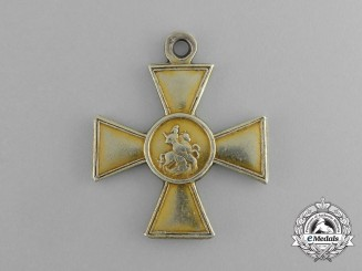 Russia, Imperial. A St. George Cross, II Class in Gold, c.1914