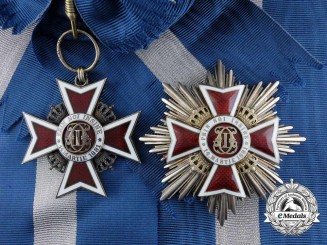Romania, Kingdom. An Order of the Crown, Grand Cross, by Heinrich Weiss, c.1940