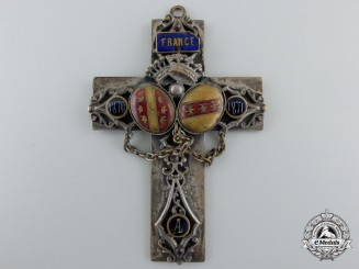 A Franco-Prussian War French Padre's Crucifix