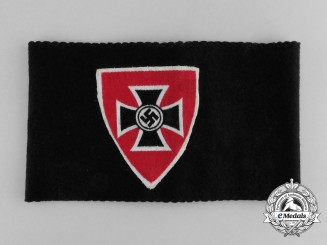 A National Socialist Veterans Organization Membership Armband
