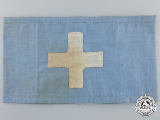 A National Air Defence League (DLSP) Medical Personnel Armband