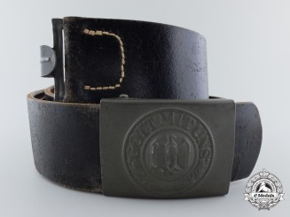 A Mint Army EM's/NCO's Belt with Buckle by Noelle & Hueck
