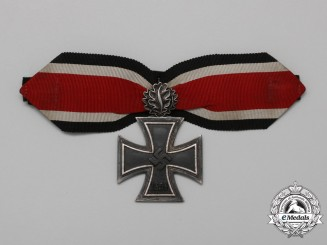 A Knight's Cross of the Iron Cross 1939 by Juncker with Oakleaves