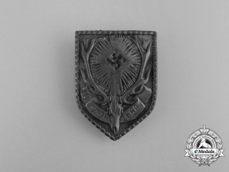 A Second War German Hunting Association Gamekeeper's Badge