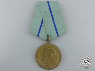 A 1943 Russian Partisan Medal; Second Class & Dated