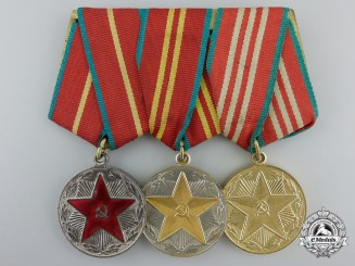 A Soviet Irreproachable Service in the Armed Forces Group of Three