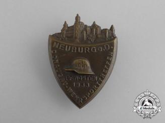 A 1933 Der Stahlhelm Neuburg Defence Sport Meeting Badge