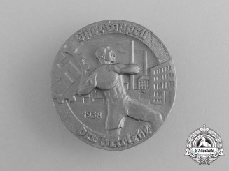 A 1938 German Festival of Sports of the Factories Badge