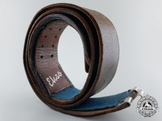 An Early Luftwaffe Officer's Belt by Ekso