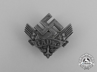A Women's RADwJ (National Labour Service of the Female Youth) Cap Badge