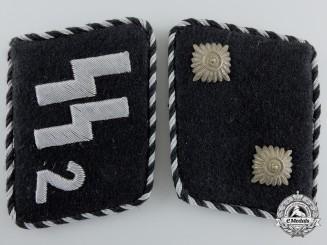 An SS-Standarte 2/VT - Germania SS Oberscharführer Set of Collar Tabs