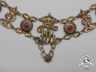 An Outstanding Oldenburg House & Merit Order of Duke Peter Frederick Louis Collar Chain