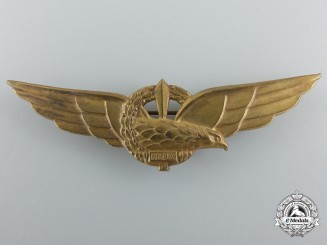 Italy, Social Republic. A Set of Pilot's Wings, c.1944