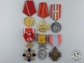 Six European Orders, Decorations, and Medals