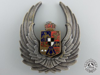 A Second War Romanian Observer's Badge; 1940-1945