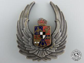 Romania, Kingdom. An Observer's Badge, 1940-1945