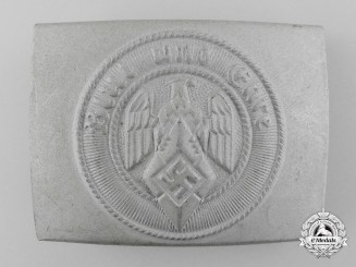 An HJ Belt Buckle by Hillenbrand & Bröer, Lüdenscheid