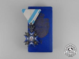 A Serbian Order of St. Sava; 5th Class Knight, Type II (1903-1921)
