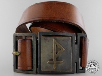 A Pfladfinder in the Christian Association of Young Men Belt with Buckle