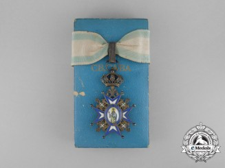 Serbia, Kingdom. An Order of St. Sava, III Class Commander, by Huguenin Freres & Co, c.1930