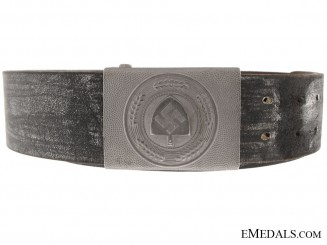 German Belt and RAD Labour Service Buckle