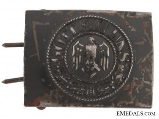 Kriegsmarine EM Buckle