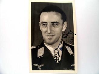 ORIGINAL SIGNED PHOTO, HERMANN GRAF