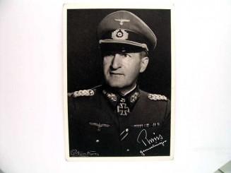 ORIGINAL SIGNED PHOTO, ERHARD RAUS