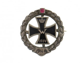 Patriotic Iron Cross
