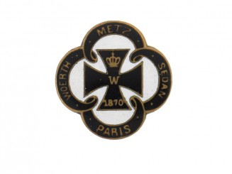 Patriotic Iron Cross Badge