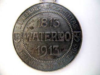 WATERLOO REGIMANTAL MEDAL