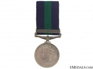 General Service Medal 1918-1962 - Palestine