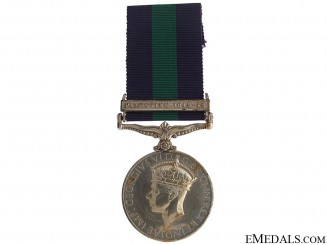 General Service Medal - Palestine