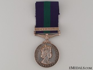 General Service Medal - Lancashire Fusiliers
