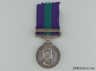 General Service Medal 1918-1962 to the 6th Gurkha Rifles