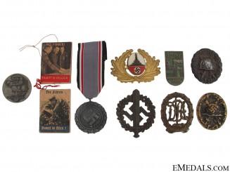 German Badges, Tinnies, & Insignia