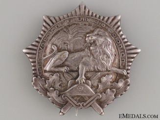 A German Colonial War Veteran Badge