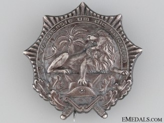 German Colonial Veteran Organization Badge