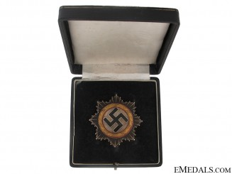 "German Cross in ""Gold"" – Cased"