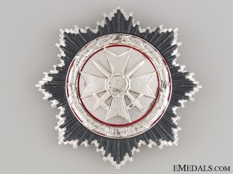 German Cross in Silver - 1957 Version