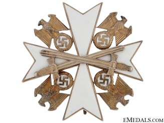 German Eagle Order with Swords